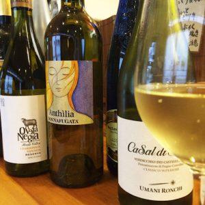 【日曜日】白ワインとチーとろスペシャル。