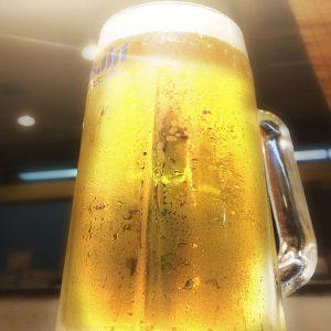 暑なってくると、生ビールが美味しい!辛いもんも美味しい!