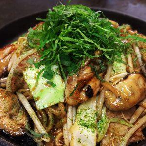 牡蠣の焼きそばの美味しい裏技。