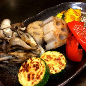 鉄板で焼けば野菜が美味しい!